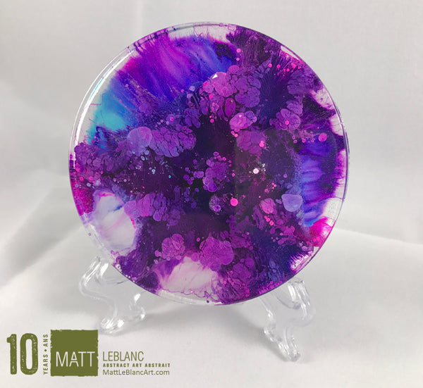 "Matt LeBlanc Supernova Art - 3.5"" round - 0028"