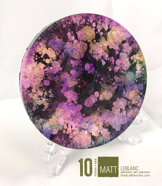 "Matt LeBlanc Supernova Art - 3.5"" round - 0047"