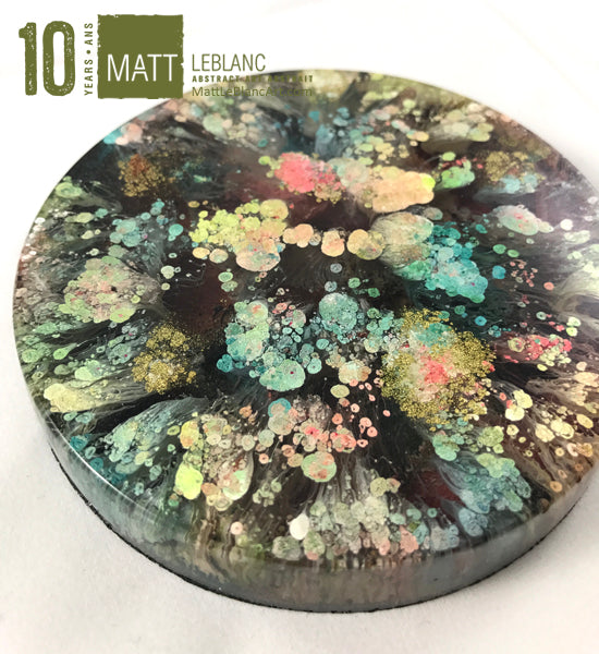 "Matt LeBlanc Supernova Art - 3.5"" round - 0046"