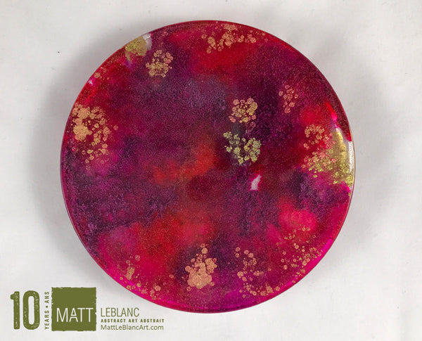 "Matt LeBlanc Supernova Art - 3.5"" round - 0044"