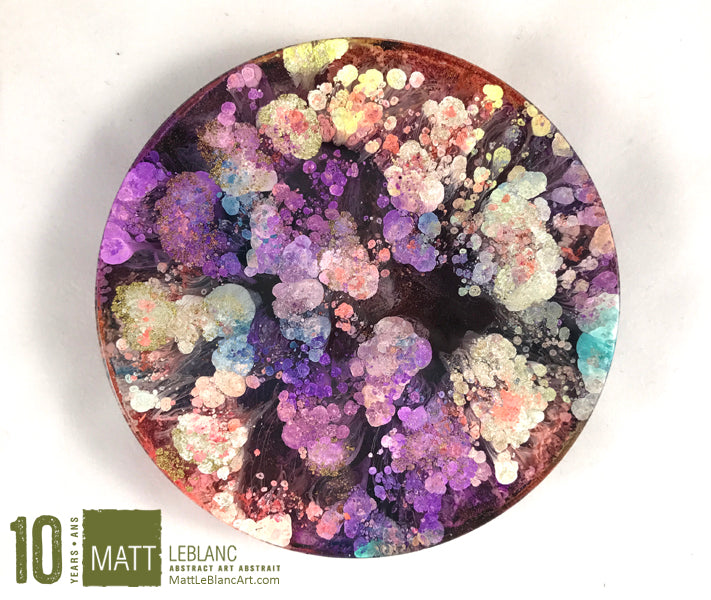 "Matt LeBlanc Supernova Art - 3.5"" round - 0043"