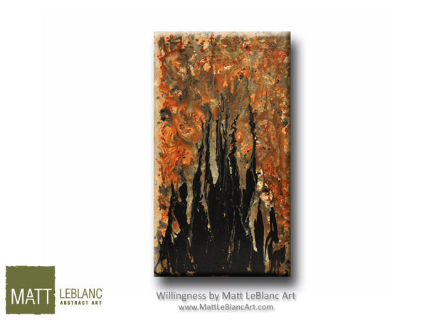 Willingness by Matt LeBlanc Art