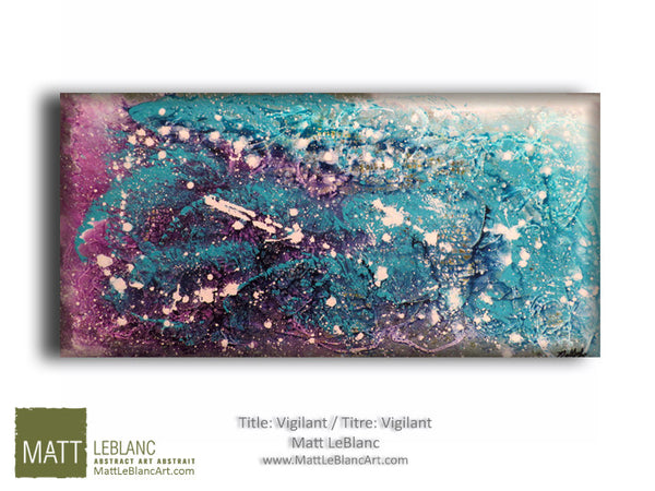 Vigilant by Matt LeBlanc Art-24x48