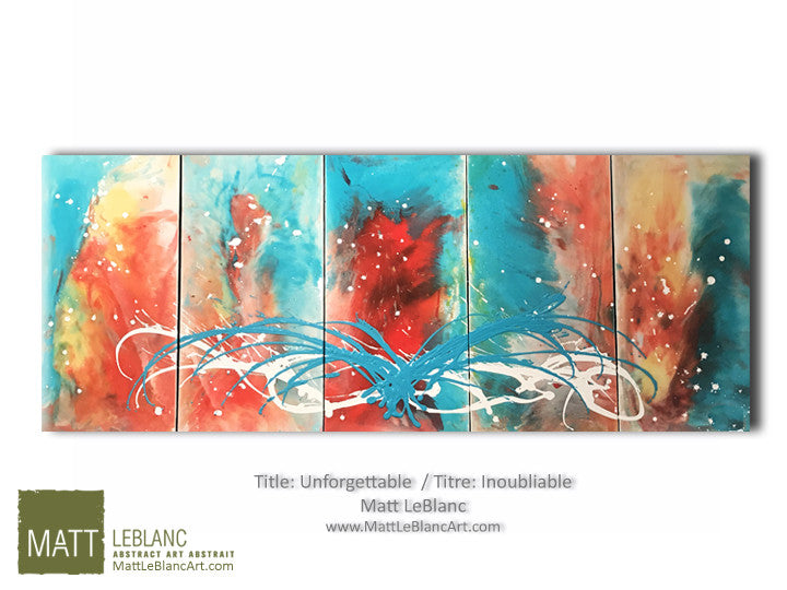 Unforgettable by Matt LeBlanc Art-24x60