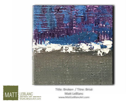 Broken by Matt LeBlanc-12x12