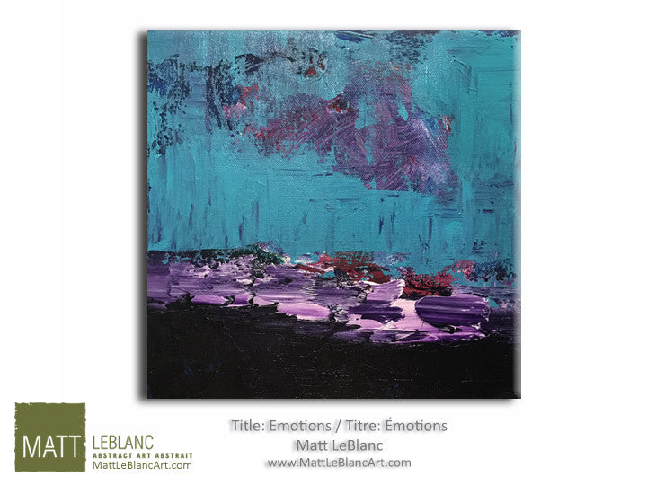 Portfolio - Emotions by Matt LeBlanc-12x12