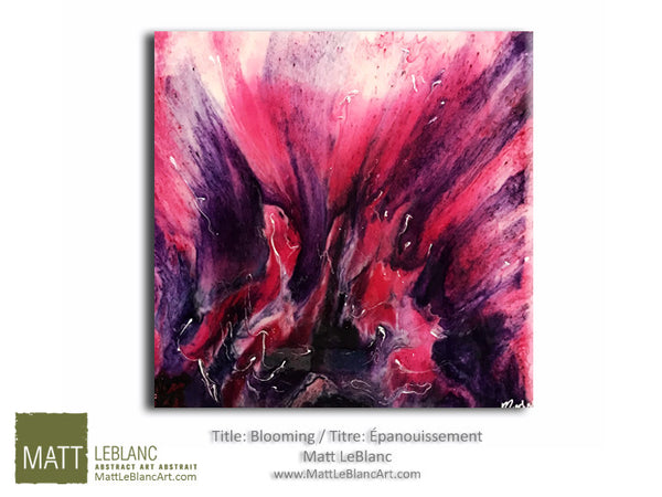 Portfolio - Blooming by Matt LeBlanc Art