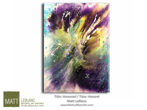 Portfolio - Honored by Matt LeBlanc Art