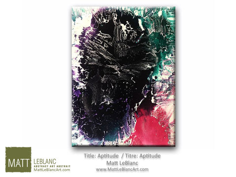 Portfolio - Aptitude by Matt LeBlanc Art-18x24