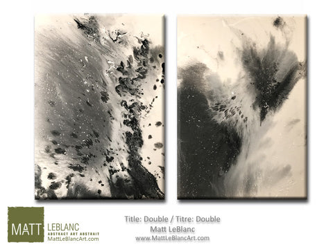 Double by Matt LeBlanc Art-36x24