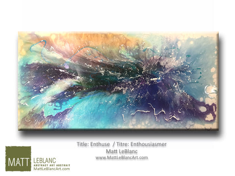Enthuse by Matt LeBlanc Art-24x48