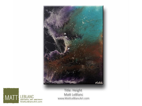 Portfolio - Height by Matt LeBlanc Art