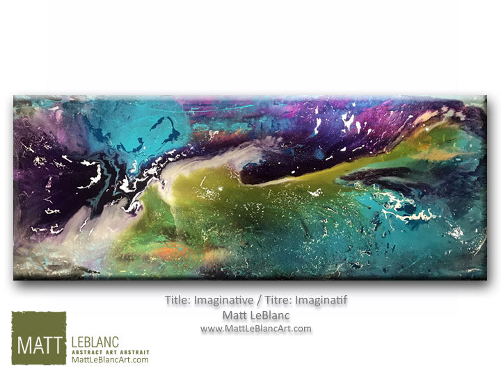 Portfolio - Imaginative by Matt LeBlanc Art-24x60