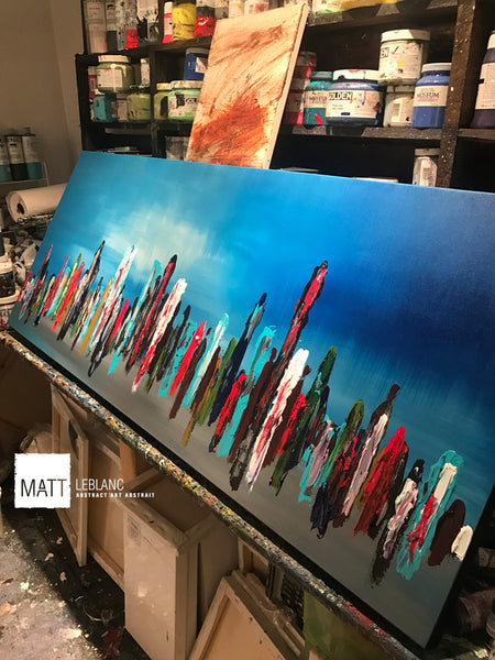 Portfolio - Related by Matt LeBlanc Art-24x60