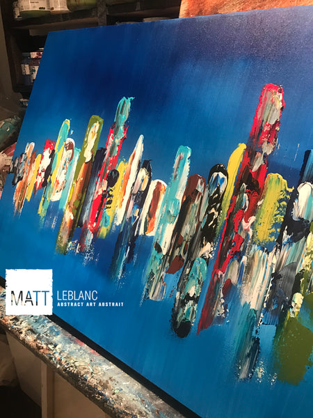 Portfolio - Encounter by Matt LeBlanc Art-24x48