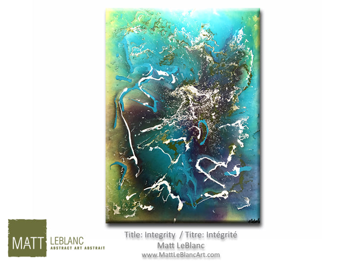 Integrity by Matt LeBlanc Art-30x40