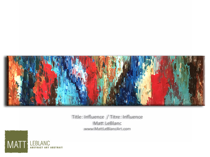 Portfolio - Influence by Matt LeBlanc Art-18x60