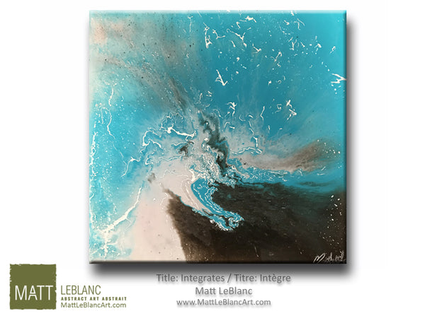 Portfolio - Integrates by Matt LeBlanc Art-20x20