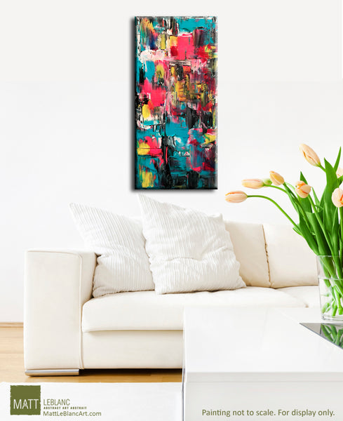 Portfolio - Intention - Original Abstract Art by Matt LeBlanc-10x20