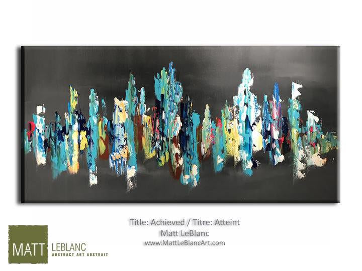 Portfolio - Achieved by Matt LeBlanc Art-24x48