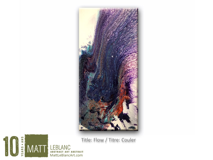 Portfolio - Flow by Matt LeBlanc Art - 12x24