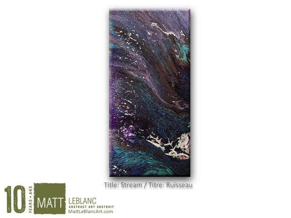Portfolio - Stream by Matt LeBlanc Art - 12x24