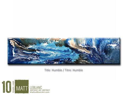Portfolio - Humble by Matt LeBlanc Art - 12x48