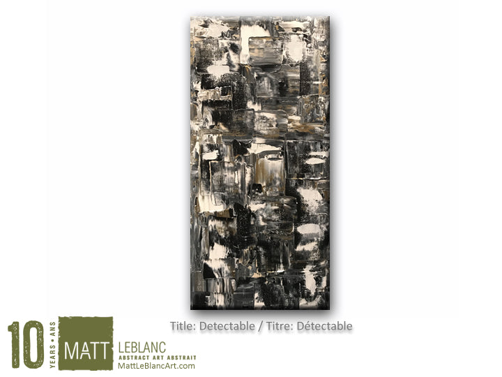 Detectable by Matt LeBlanc Art - 12x24