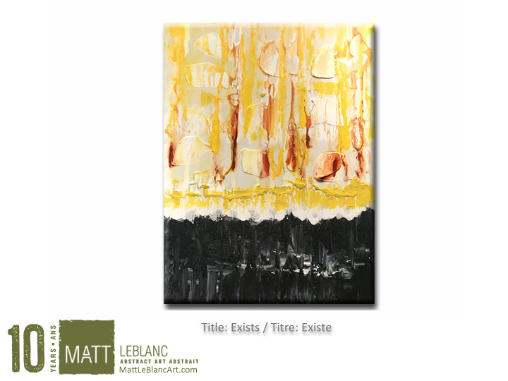 Portfolio - Exists by Matt LeBlanc Art-18x24