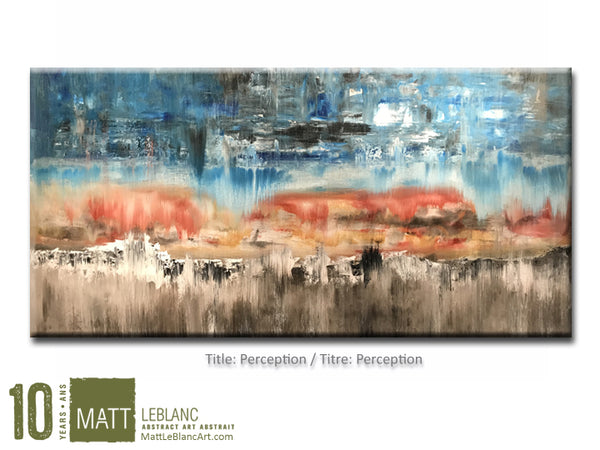 Perception by Matt LeBlanc Art-24x48