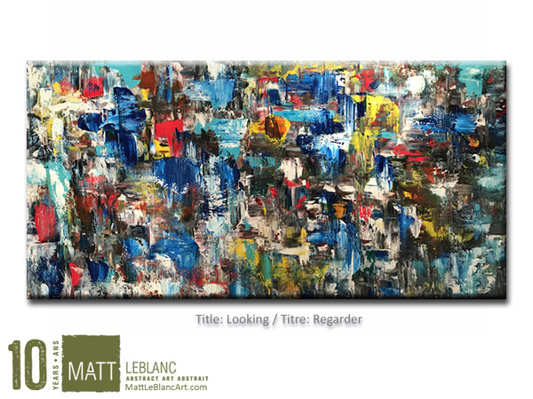 Portfolio - Looking by Matt LeBlanc Art-24x48
