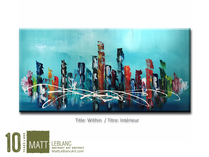 Portfolio - Within by Matt LeBlanc Art-24x48