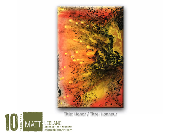 Portfolio - Honor by Matt LeBlanc Art-18x24