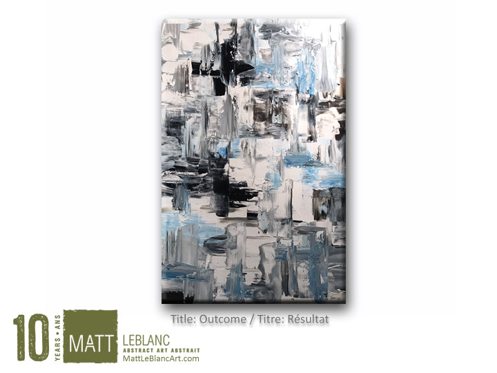 Portfolio - Outcome by Matt LeBlanc Art-24x36