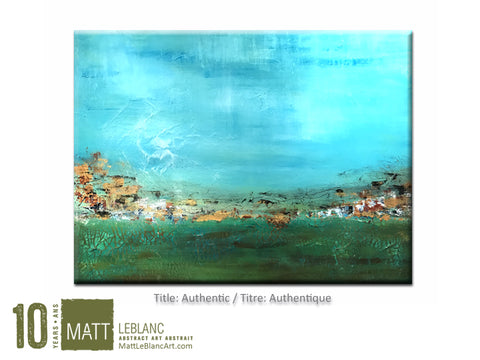 Portfolio - Authentic by Matt LeBlanc Art