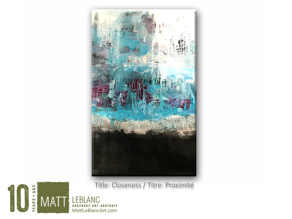 Closeness by Matt LeBlanc Art-24x36