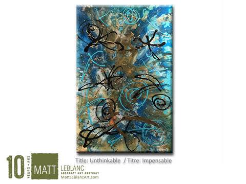 Portfolio - Unthinkable by Matt LeBlanc Art-24x36