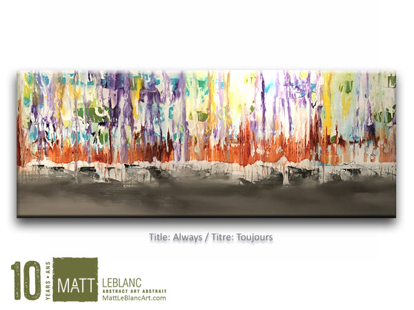 Portfolio - Always by Matt LeBlanc Art-24x60