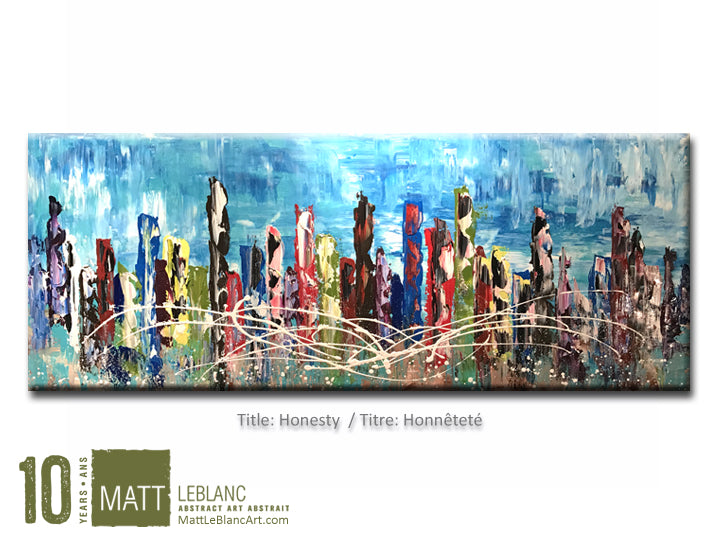 Portfolio - Honesty by Matt LeBlanc Art-24x60