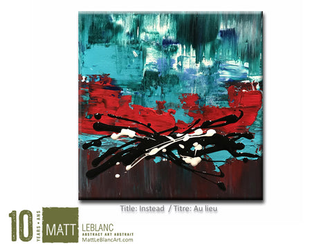 Portfolio - Instead by Matt LeBlanc-12x12
