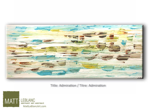 Portfolio - Admiration by Matt LeBlanc Art-24x60