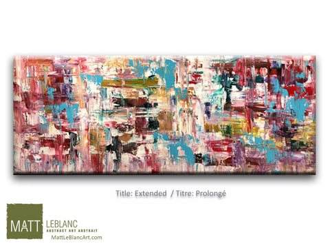 Extended by Matt LeBlanc Art-24x60