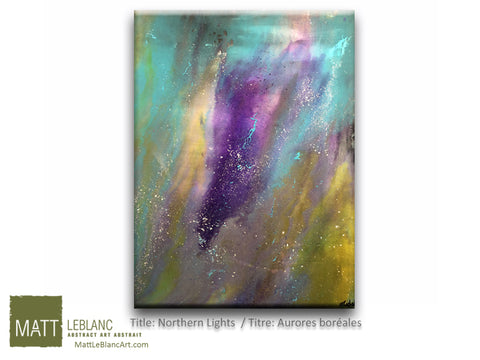 Portfolio - Northern Lights by Matt LeBlanc Art-30x40