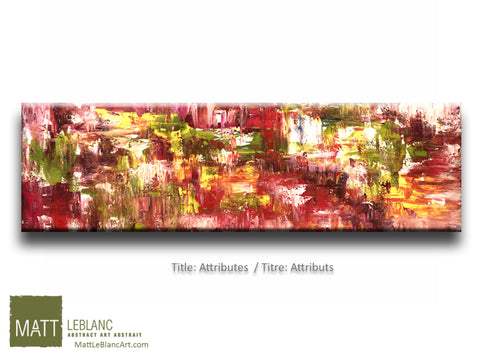 Attributes by Matt LeBlanc Art-12x48