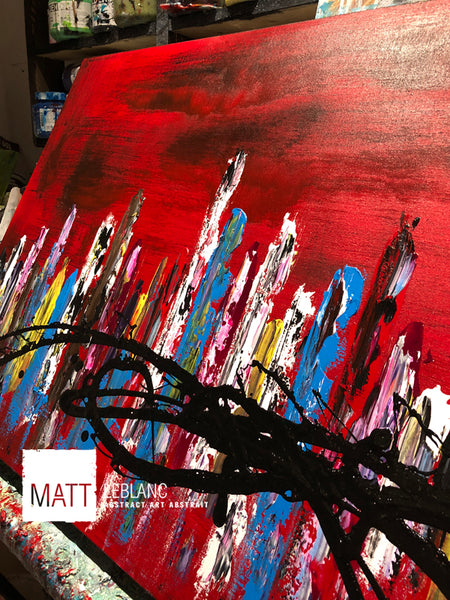 Portfolio - Helpful by Matt LeBlanc Art-24x48