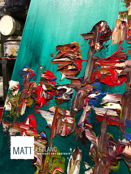 Portfolio - Influential by Matt LeBlanc Art-12x48