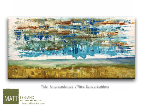 Unprecedented by Matt LeBlanc Art-24x48