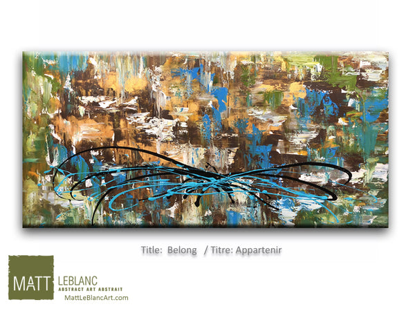 Portfolio - Belong by Matt LeBlanc Art-24x48