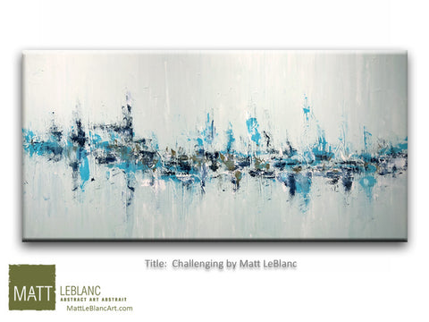 Challenging by Matt LeBlanc Art-30x60