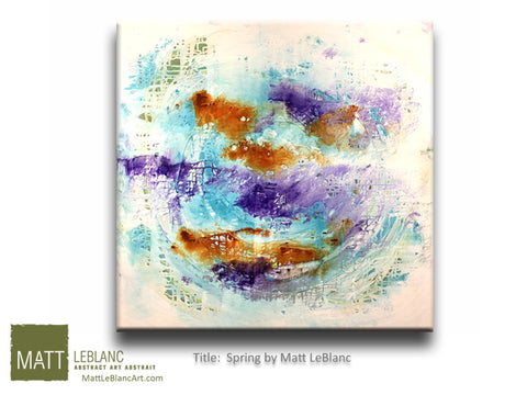 Spring by Matt LeBlanc Art-36x36